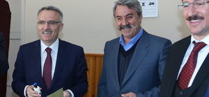 Maliye Bakanı Ağbal, oyunu Bayburt'ta kullandı
