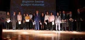Edremit'te 260 öğretmen başarı belgesi aldı