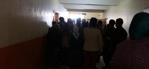 Varto'da oy kullanma işlemi