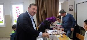 Başkan Kadıoğlu 1313 No'lu sandıkta oyunu kullandı