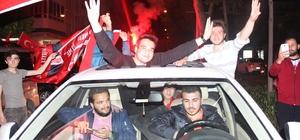 Alanya'da referandum kutlaması başladı