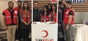 Esas 67 Burda'dan gönüllü kan bağışı