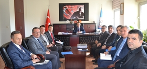 Okul müdürleri ile TEOG toplantısı
