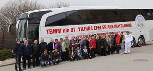 Efeler Belediyesi 400 vatandaşı Ankara'ya taşıdı