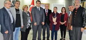 DİKTUM-DER'den Başkan Özkan'a ziyaret