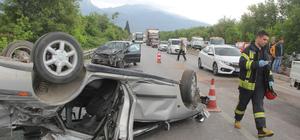 Manisa'da trafik kazası: 1 ölü, 5 yaralı
