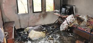 Kırıkkale ev yangını: 1 ölü
