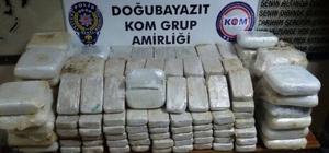 Uyuşturucu tacirleri eroini kayaklıklara gizlemiş