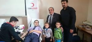 Çifteler'de Türk Kızılay'ına 'Kan Kök Hücre' bağışı