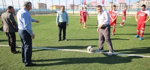 Beyşehir'de şehitler anısına futbol turnuvası başladı