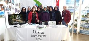 Düzce Üniversitesi'ne Bursa'da yoğun ilgi