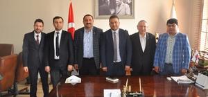 STSO'dan Baro Başkanı Dilek'e ziyaret