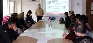 Erzincan Gençlik Merkezi'nde Uygulamalı Girişimcilik Eğitimi Başladı