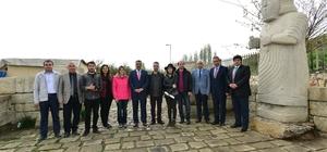 Başkan Gürkan şehre dokunanlar programının çekimlerine katıldı