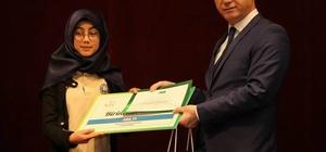 'Sağlıklı Nesil Sağlıklı Gelecek' yarışmasında dereceye giren öğrenciler ödüllendirildi