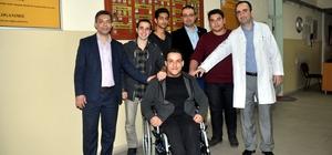 Engelli arkadaşları 'Umut' için proje yaptılar