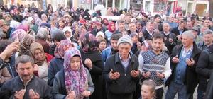 Hisarcık'ta umre kafilesi dualarla uğurlandı