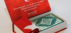 Başkan Altay'dan yeni evlenen çiftlere hediye