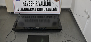 Nevşehir'de hırsızlık şüphelisi 8 şahıs yakalandı