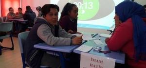 Çavdarhisar'da ortaokullar arası bilgi yarışması
