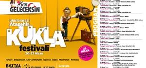 Kukla Festivali perdelerini Ataşehirli çocuklar için açıyor