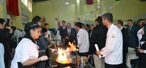 Öğrenciler arasında 'Yemek yarışması' düzenlendi