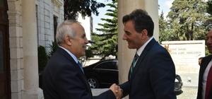 Kosova Kamu Yönetim Bakanı Yağcılar Hatay'da