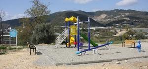 Alanya Belediyesi'nden 3 mahalleye çocuk parkı