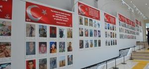 """Fatsa'da """"Ordulu Şehitlerimiz Fotoğraf ve Envanter Sergisi"""" açıldı"""