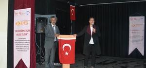 """Karaçoban'da ''Geleceğimiz için ailece el ele projesi"""" kapsamında eğitim programı düzenlendi"""