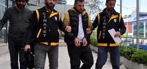Bursa'da silahla yaralama güvenlik kamerasında