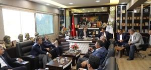Başkan Çiftçi'den Harran'a teşekkür ziyareti