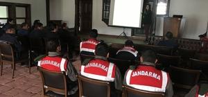 Boğazkale'de kolluk personeline değerler eğitimi verildi