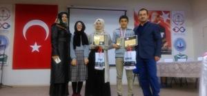 Seydi Resul İmam Hatip Ortaokulu, Kur'an'-Kerim'i güzel okuma yarışmasında 3. oldu