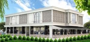 Saray Cumhuriyet Mahallesi'ne modern düğün salonu ve çay bahçesi