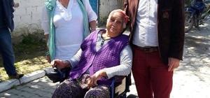 Didim Engelliler Derneğinden anlamlı sandalye bağışı
