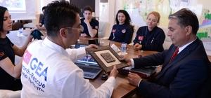Başkan Uysal, GEA Antalya grubuyla buluştu