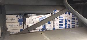 Van'da 26 bin paket kaçak sigara ele geçirildi