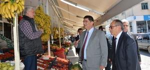 AESOB Başkanı Dere, Gazipaşa'da