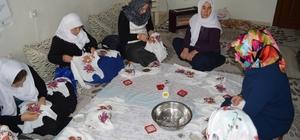 El emeği ürünler koleksiyonunu Şırnaklı kadınlar üretiyor