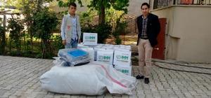 Silopi'de talasemi hastalarına battaniye ve gıda yardımı