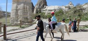 Engelli öğrenciler Turizm Haftasında unutulmadı