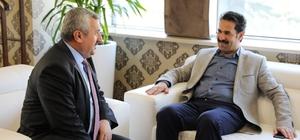 Başkan Baran, Milletvekili Yaman'ı makamında ağırladı