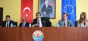 Mersin'de 'Uluslararası Lojistik Semineri' başladı