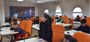 Didimli Öğrenciler yerel yönetimi Başkan Atabay'dan öğrendiler