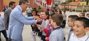 Kardeş okullardan Başkan Şirin'e teşekkür