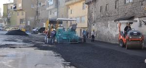 Develi'de terminal mevkiinde asfaltlama çalışmaları başladı