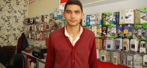 Kahramanmaraş'ta iş yerinden hırsızlık güvenlik kamerasında
