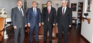 Belediye Başkanı Kara, Bakan Eroğlu'nu ziyaret etti