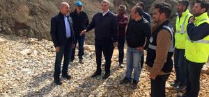 Akçay Barajı çalışmalarında sona yaklaşıldı